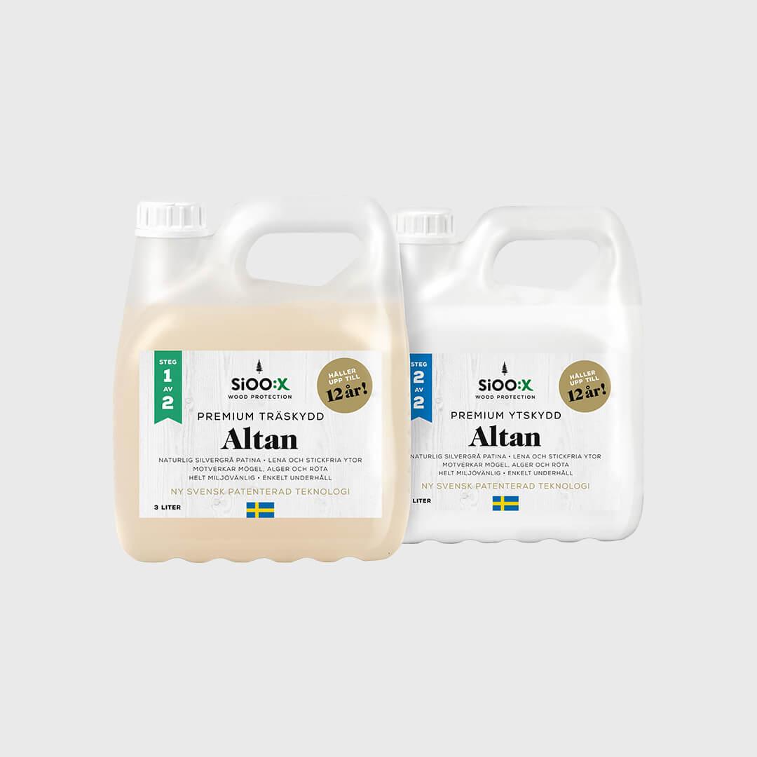 Premium trä- och ytskydd Altan Steg 1 & 2
