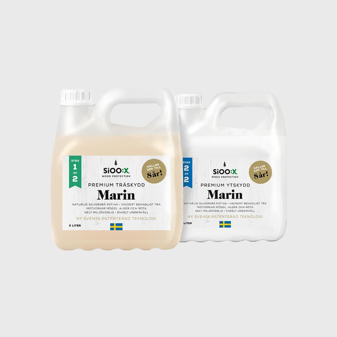 Premium Trä- och Ytskydd Marin Steg 1 & 2