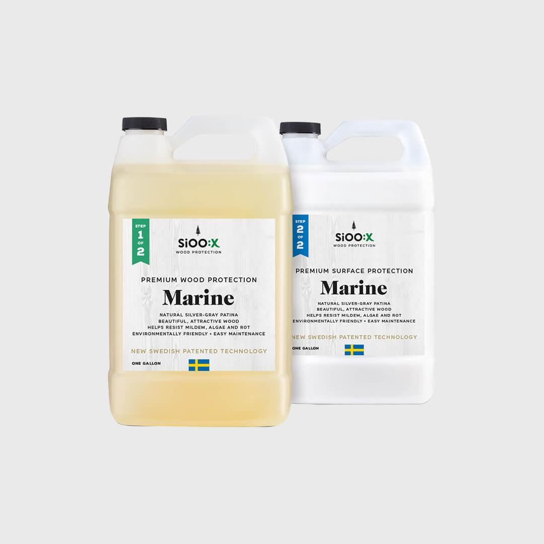 Premium Wood/Surface Protection Marine Step 1 & 2
